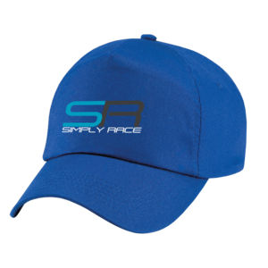 Simply Race Logo Baseball Cap Thumbnail