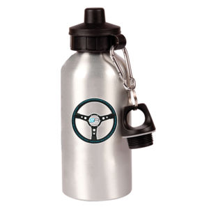 Simply Race Racetrack Aluminium 600ml Waterbottle Thumbnail