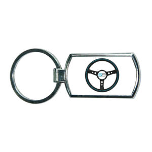 Simply Race Racetrack Oblong Keyring Thumbnail