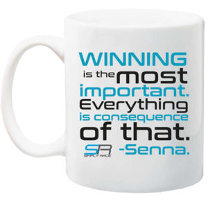 Simply Race Senna I'm Not Designed 10oz Ceramic Mug Thumbnail